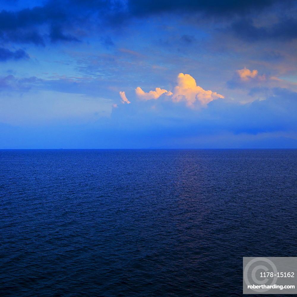 Aegean Sea horizon