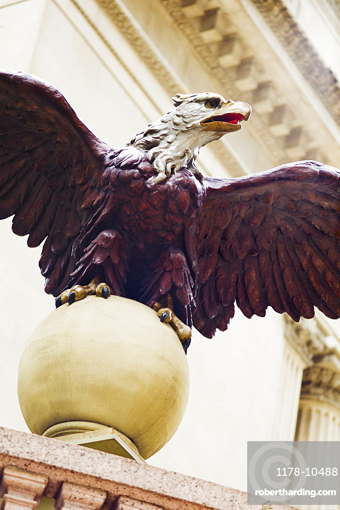 Eagle statue at Grand Central Station