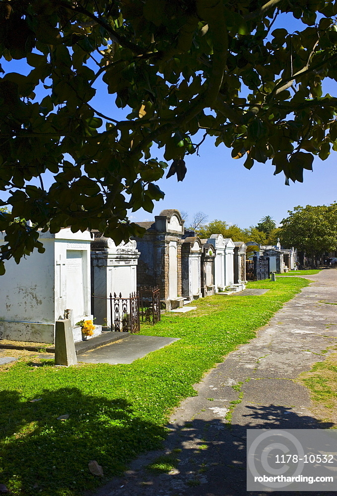 Lafayette cemetery in New Orleans