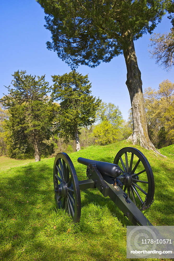 Cannon at Vicksburg National Military Park