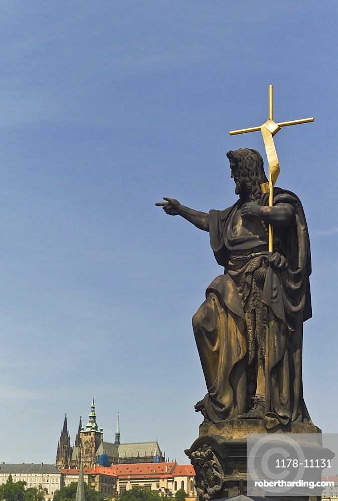 John the Baptist statue, Prague