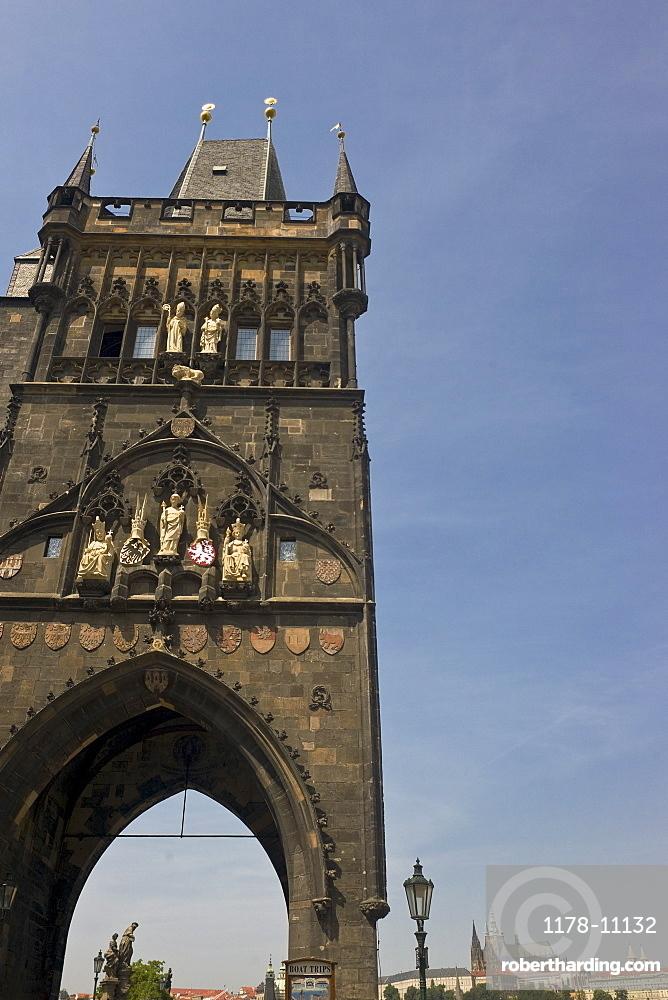 Tower of Charles Bridge, Prague