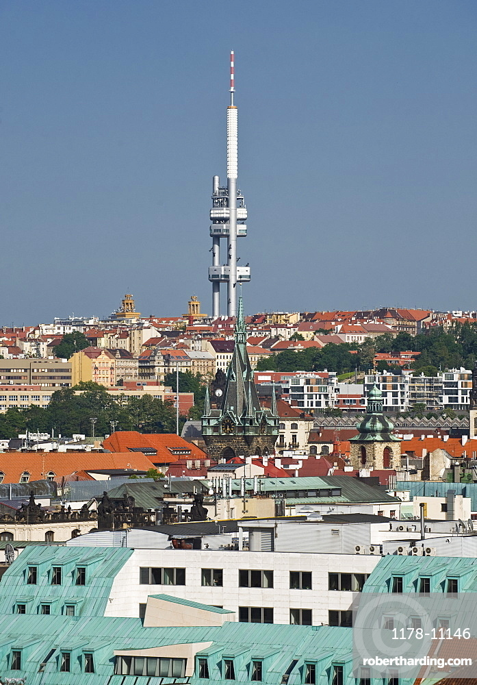 Television Tower in Prague