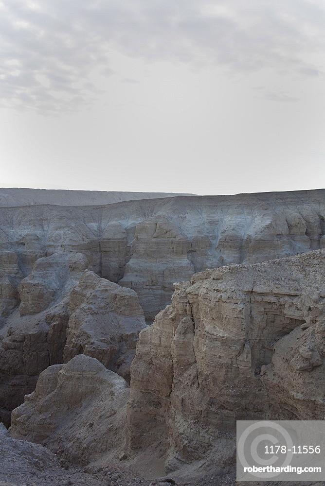 Israel, Dead Sea, rock formations