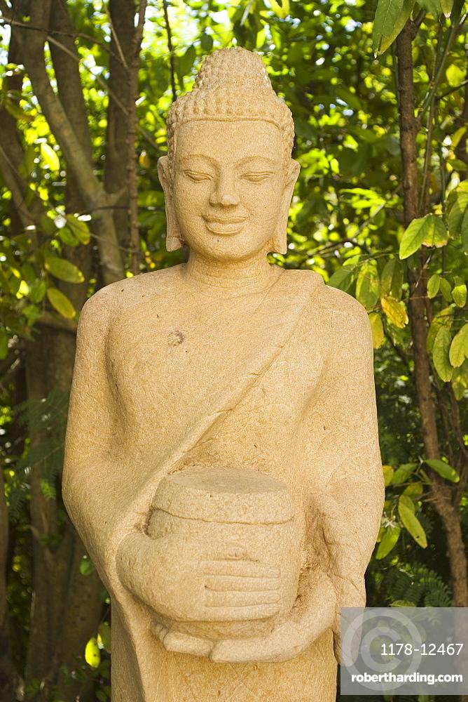 Sculpture at the Royal Palace Phnom Penh Cambodia Khmer
