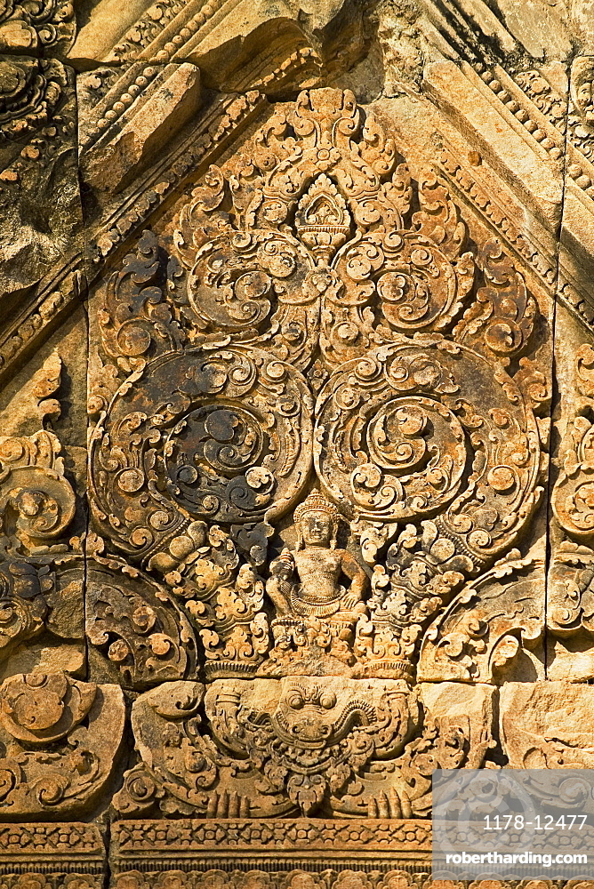 Ancient Temple Angkor Wat Banteay Srei Cambodia Khmer