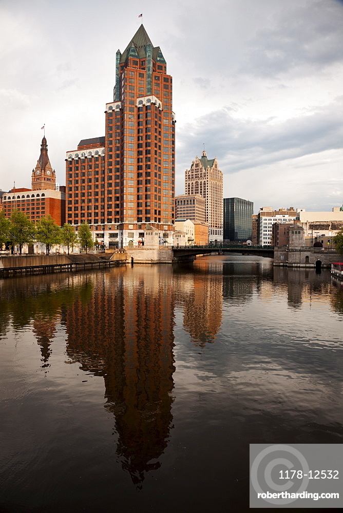 Milwaukee after heavy storm