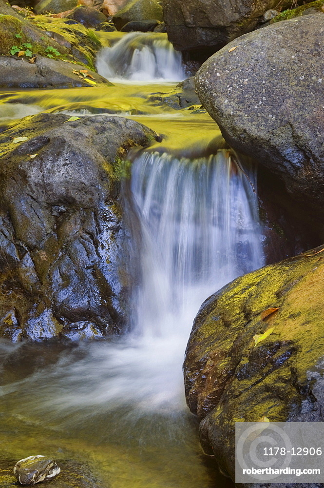 USA, Oregon, small waterfall