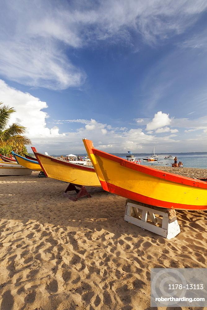 Boats on Crash Boat Beach, Puerto Rico