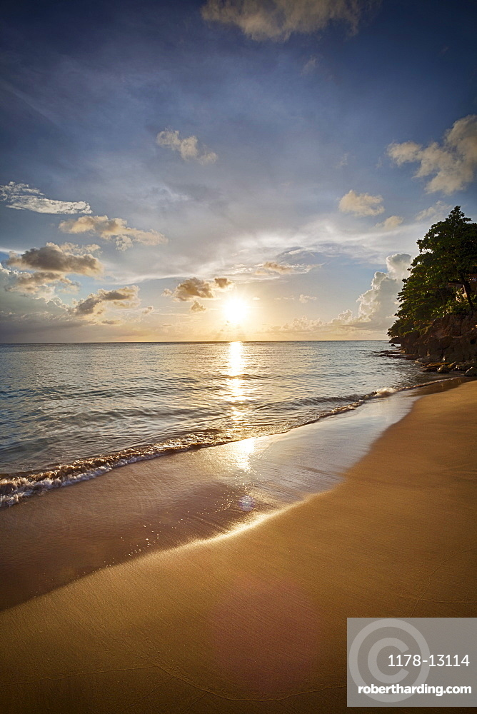 Crash Boat Beach, Puerto Rico, sunset