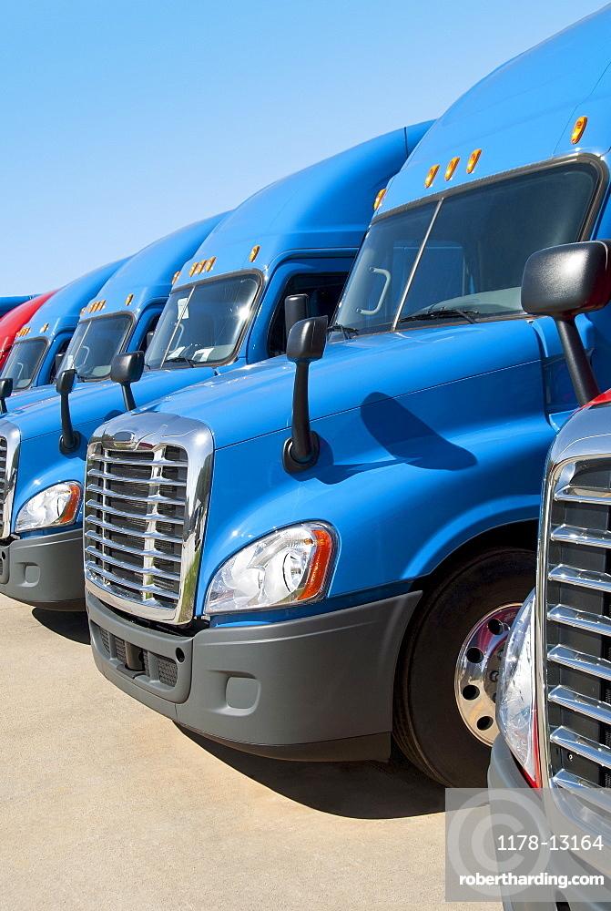 New semi trucks