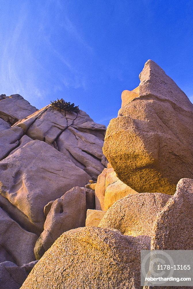 Land's End, huge rocks