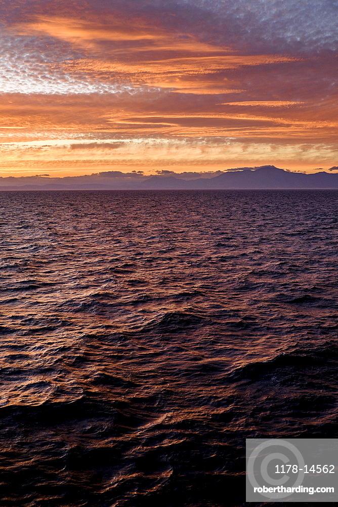 Mediterranean Sea, Sunset, Mediterranean