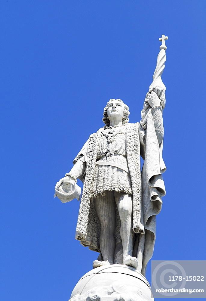 Puerto Rico, Old San Juan, Statue of Christopher Columbus