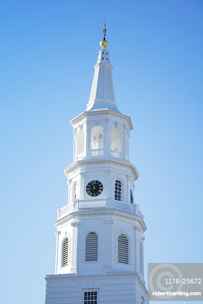 South Carolina, Charleston, Church tower