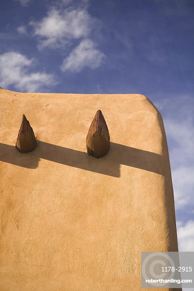 Adobe detail Santa Fe New Mexico