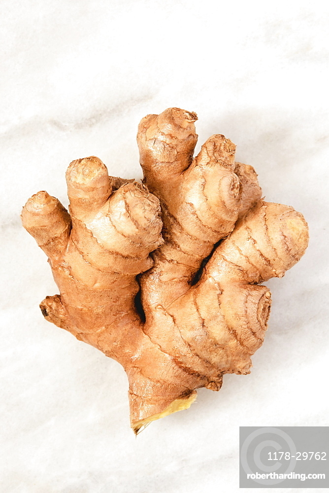 Close-up of ginger root