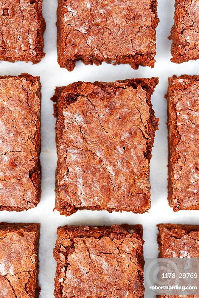 Close-up of brownies