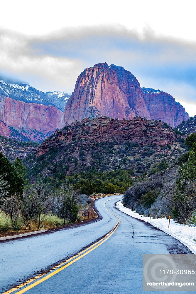 United States, Utah, Zion National Park, Kolob Canyon section of Zion National Park