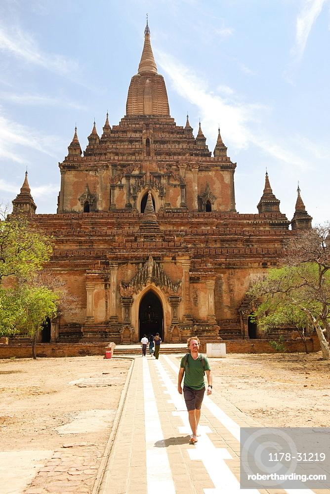 Gubyaukgyi Temple, Bagan Archaeological Zone, Buddhist temples, Mandalay, Myanmar