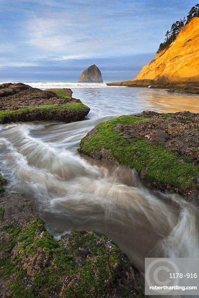 Haystack Rock, USA, Oregon, Pacific City