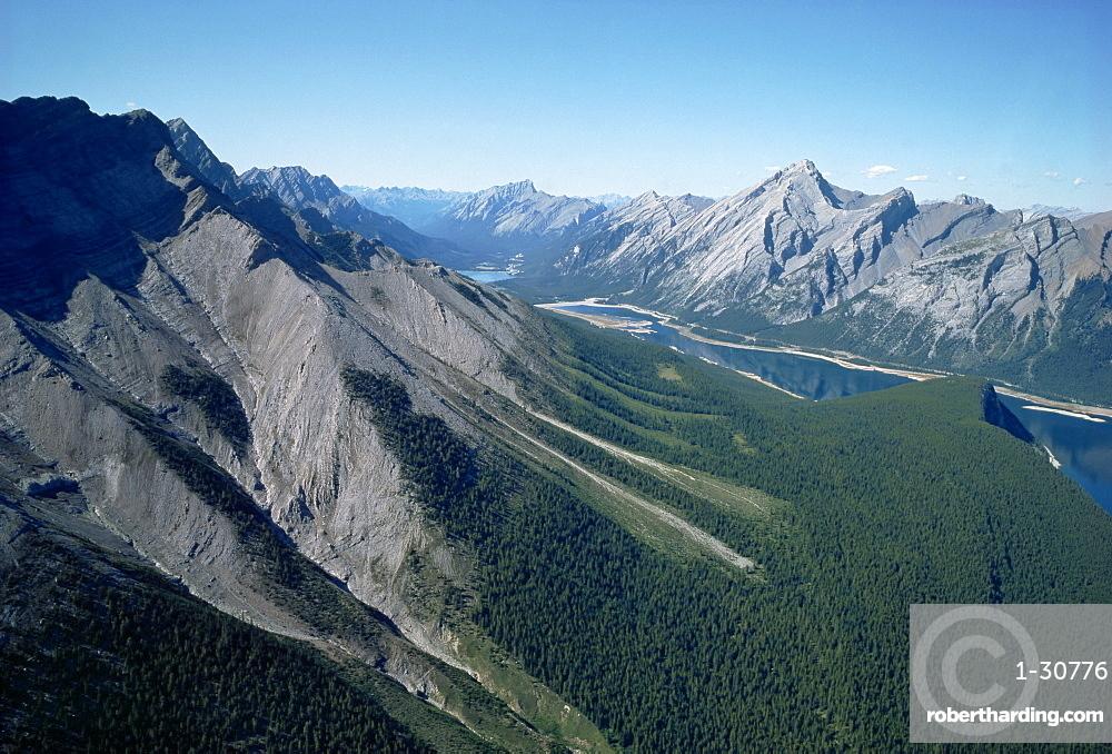 Rocky Mountains near Banff, Alberta, Canada, North America