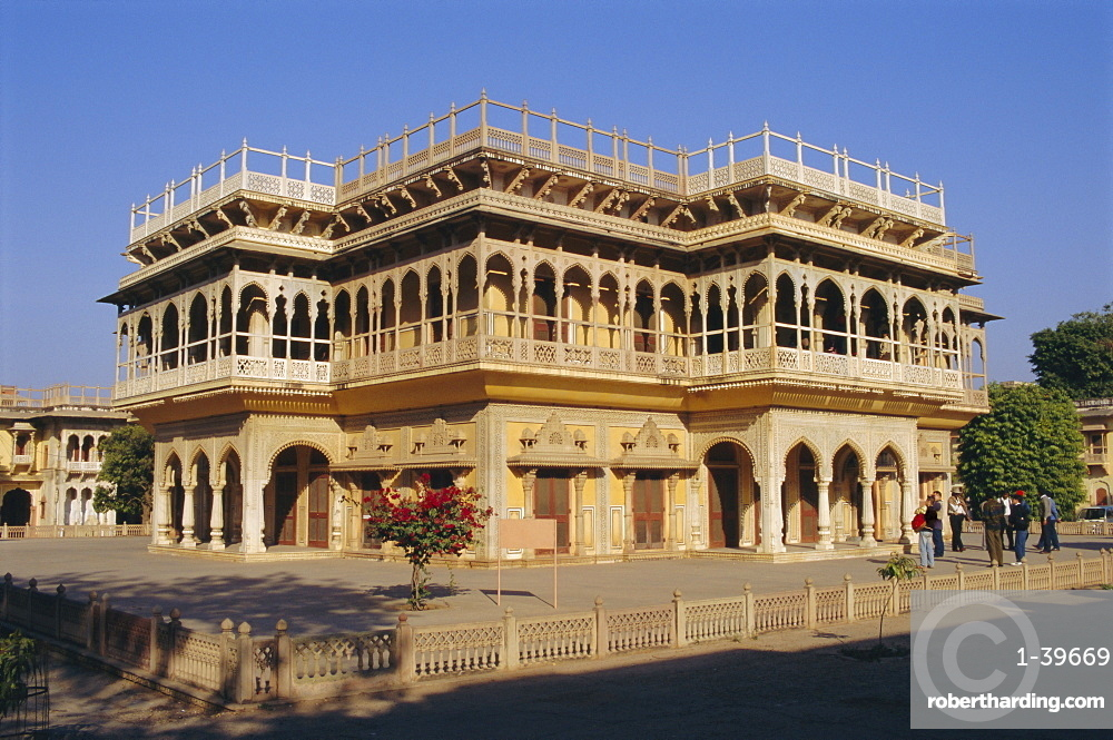 The City Palace in Jaipur, Rajasthan, India