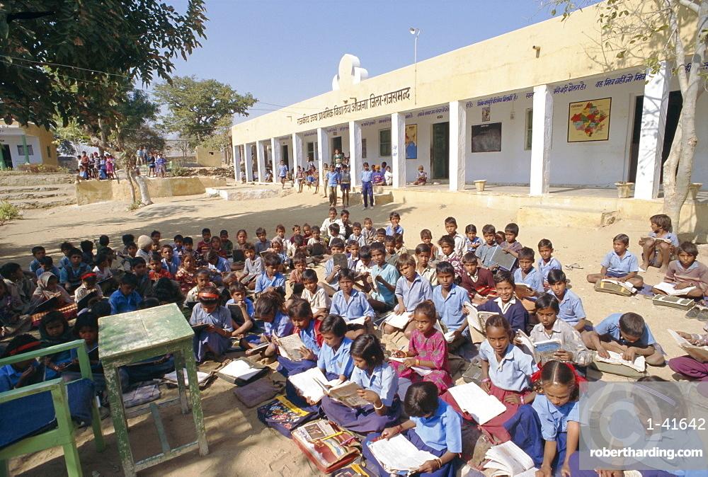 Village school, Deogarh, Rajasthan, India