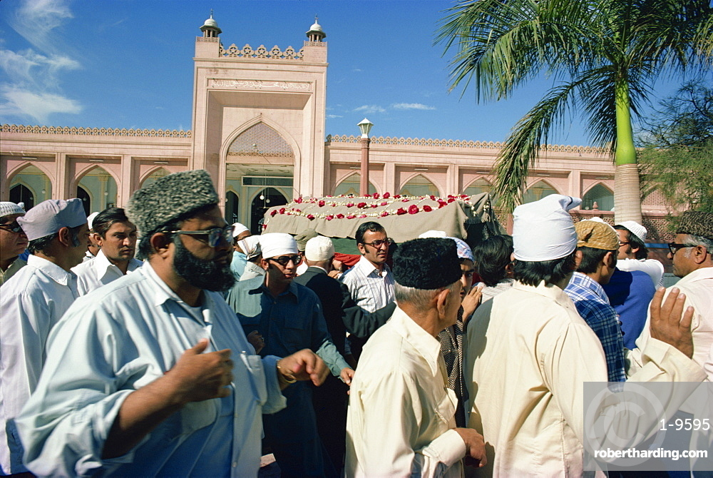 Funeral, Karachi, Pakistan, Asia
