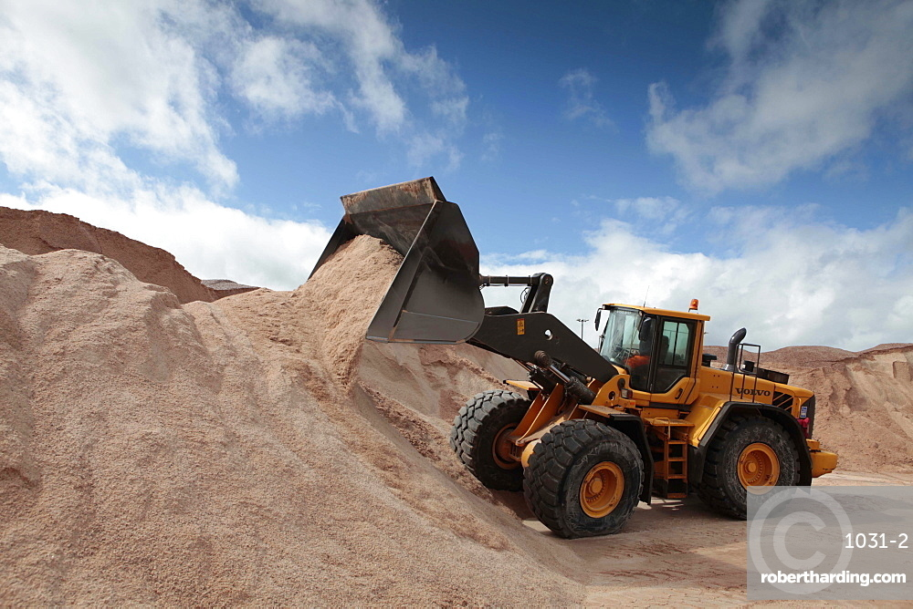 Winsford, a small village in Cheshire with a mine that supplies nearly 60% of the country's grit salt..