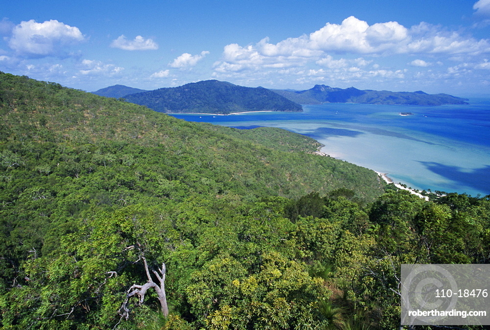 View from Cook's lookout, Hayman Island, Whitsunday Group, Queensland, Australia
