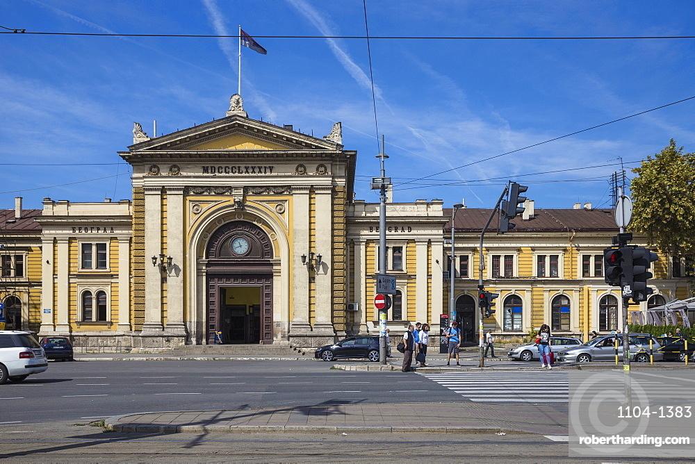 Belgrade railway station, Belgrade, Serbia, Europe