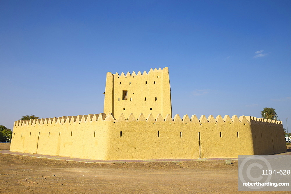 Al Rumeilah Fort, Hili, Al Ain, Abu Dhabi, United Arab Emirates, Middle East