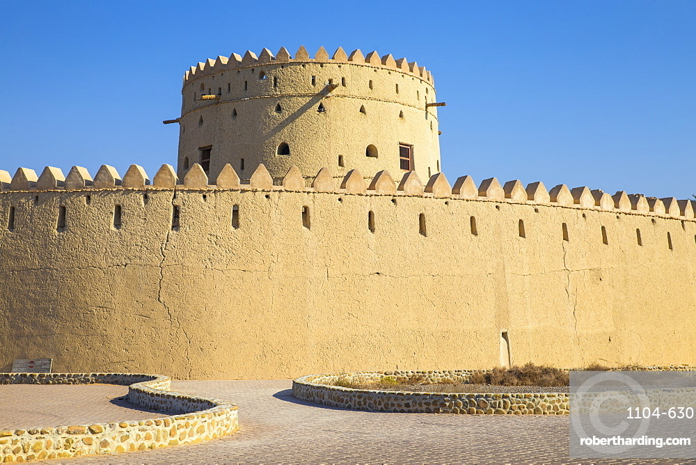 Hili Fort and watchtower, Hili, Al Ain, UNESCO World Heritage Site, Abu Dhabi, United Arab Emirates, Middle East