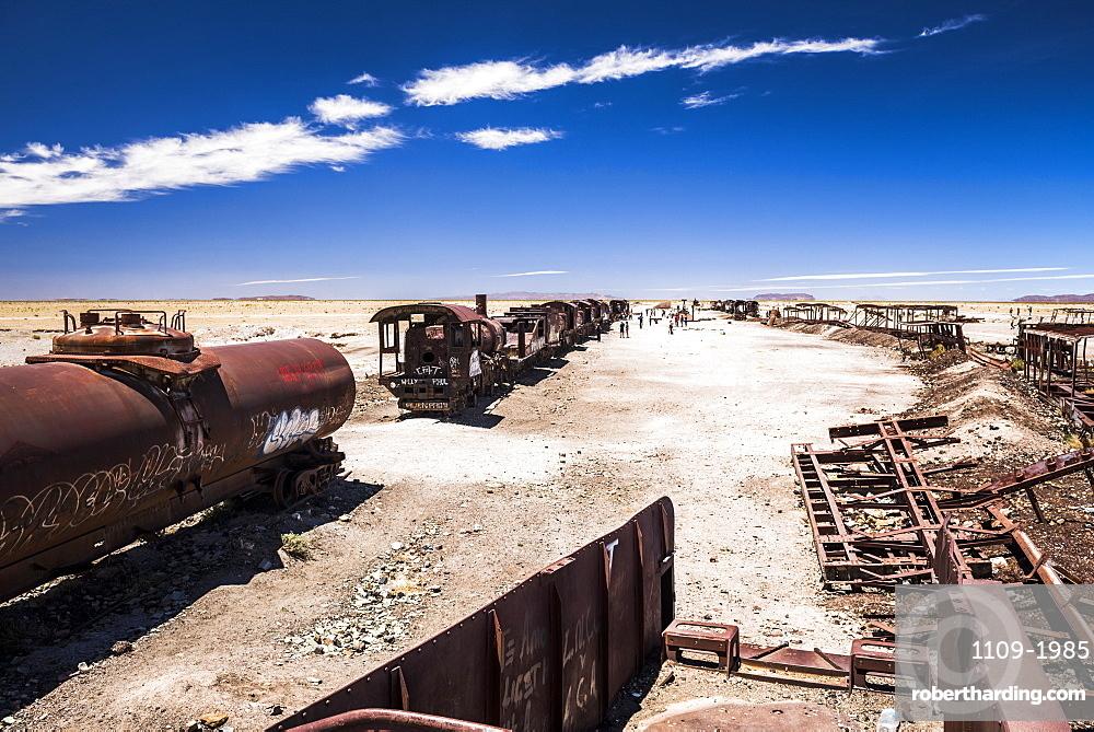 Train Cemetery (Train Graveyard), Uyuni, Bolivia, South America