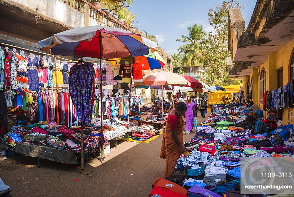 Chaudi Market, Goa, India, Asia