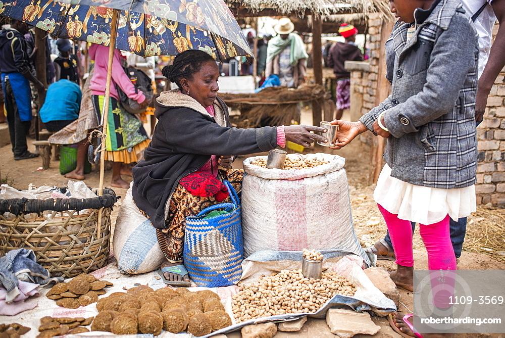 Andohasana Market, near Ranomafana, Madagascar Central Highlands, Madagascar, Africa