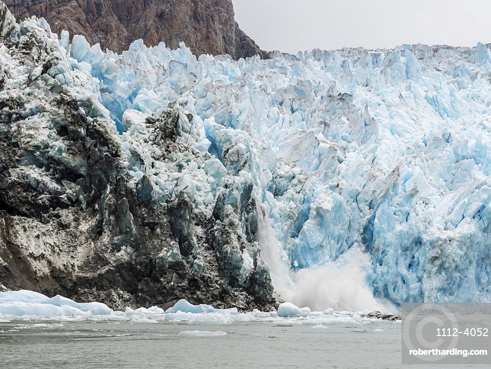 South Sawyer Glacier, Tracy Arm-Fords Terror Wilderness Area, Southeast Alaska, United States of America