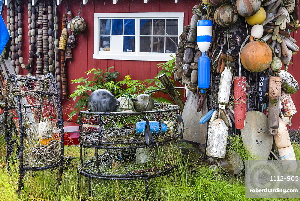 The Norwegian fishing town of Petersburg, Southeast Alaska, USA