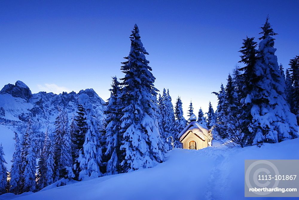 Chapel of St. Michael, Passo Monte Croce di Comelico, South Tyrol, Italy
