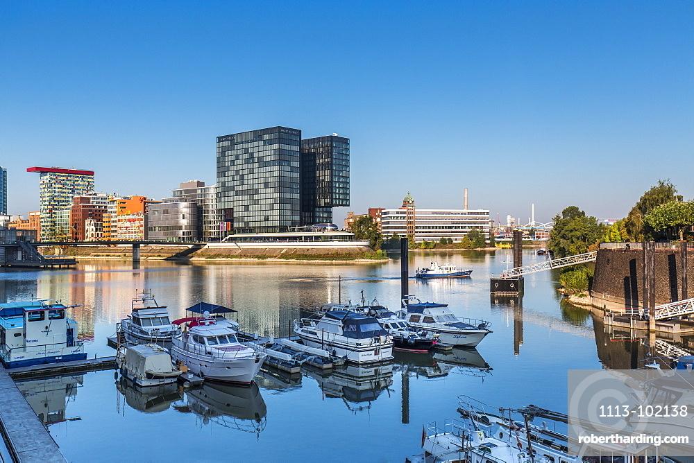 Hyatt Hotel, Media harbour, Duesseldorf, North Rhine Westphalia, Germany