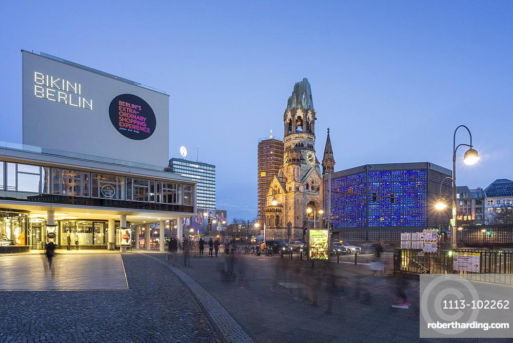 Bikini Shopping Center, Kaiser Wilhelm Memorial Church, Berlin, Germany