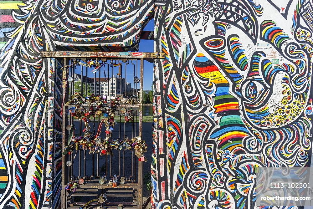 Berlin Wall, East Side Gallery, Berlin, Germany