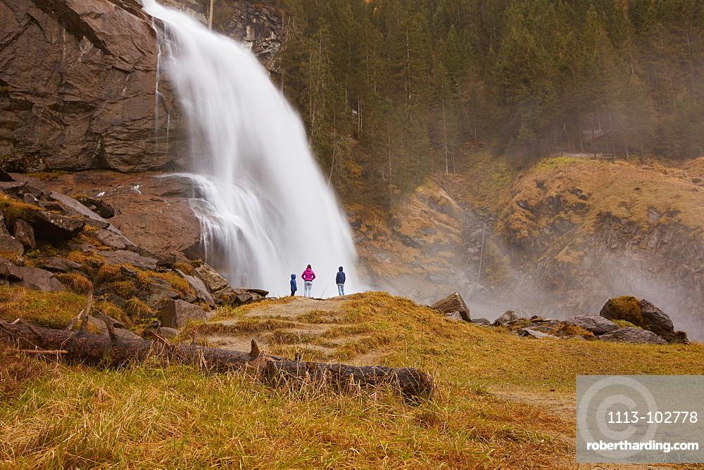 Krimml waterfalls, Krimml, Zell am See, Salzburg, Austria