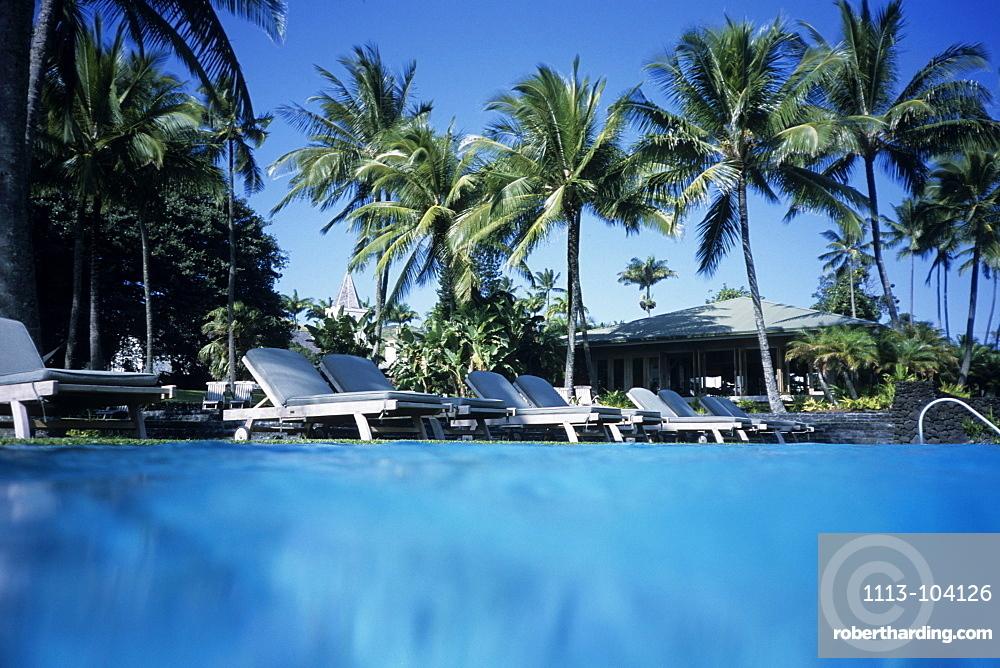 Hotel Hana-Maui Pool, Hana, Maui, Hawaii, USA