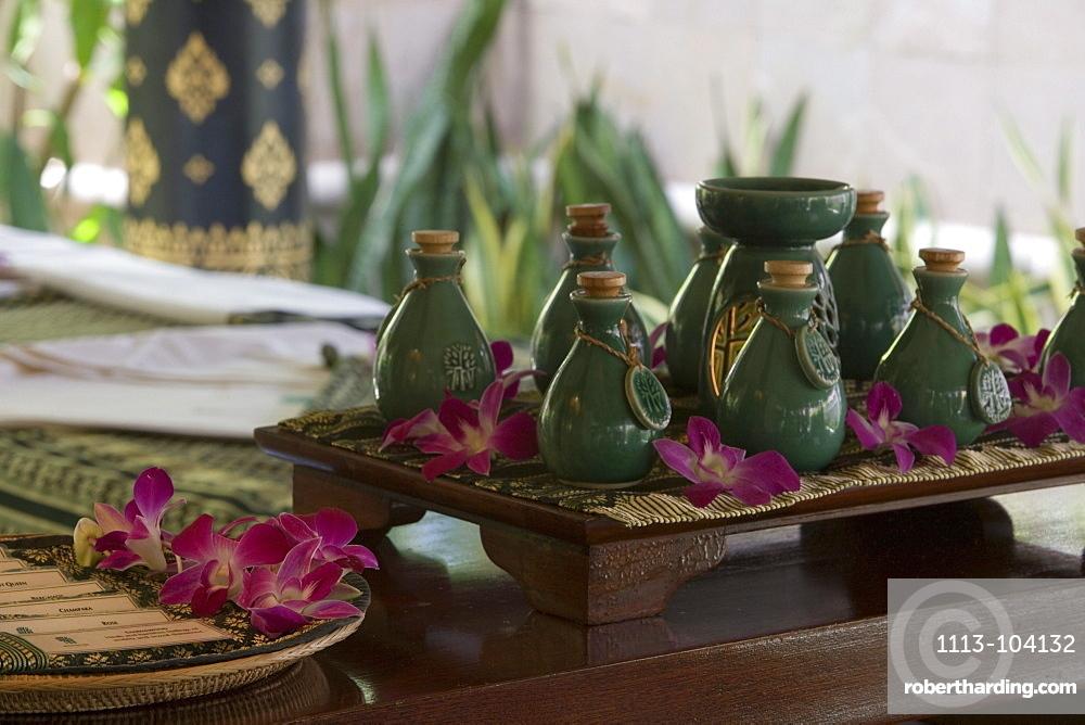 Banyan Tree Spa Oils, Banyan Tree Resort, Phuket, Thailand