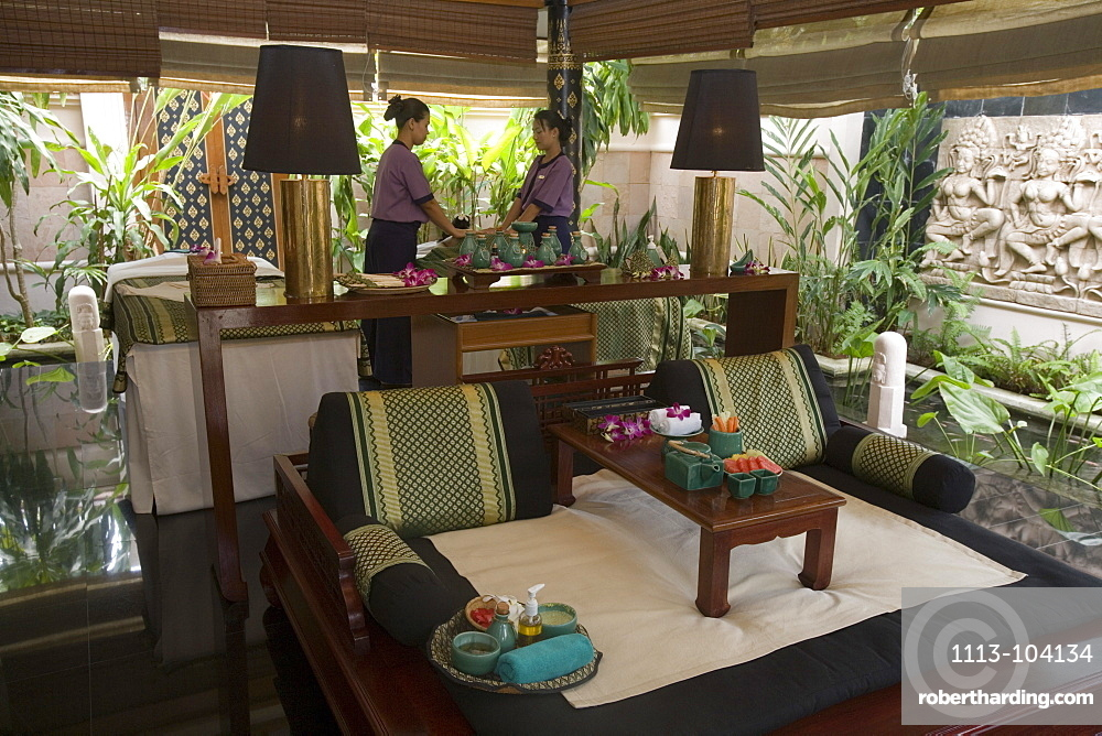 Banyan Tree Spa Massage, Banyan Tree Resort, Phuket, Thailand