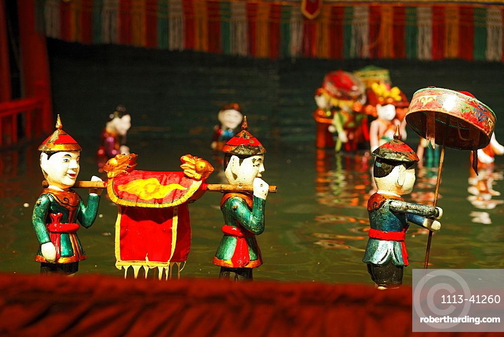 Thang-Long water puppetry, Hanoi, Bac Bo, Vietnam