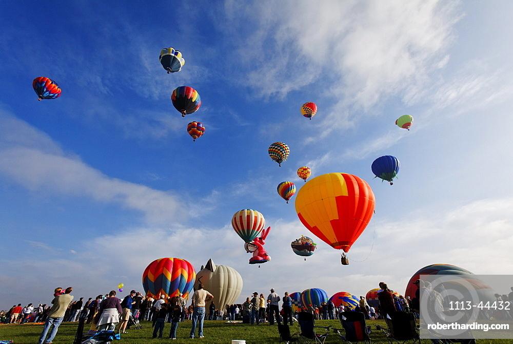 Annual Balloon Classic (September), Colorado Springs, Colorado, USA, North America, America