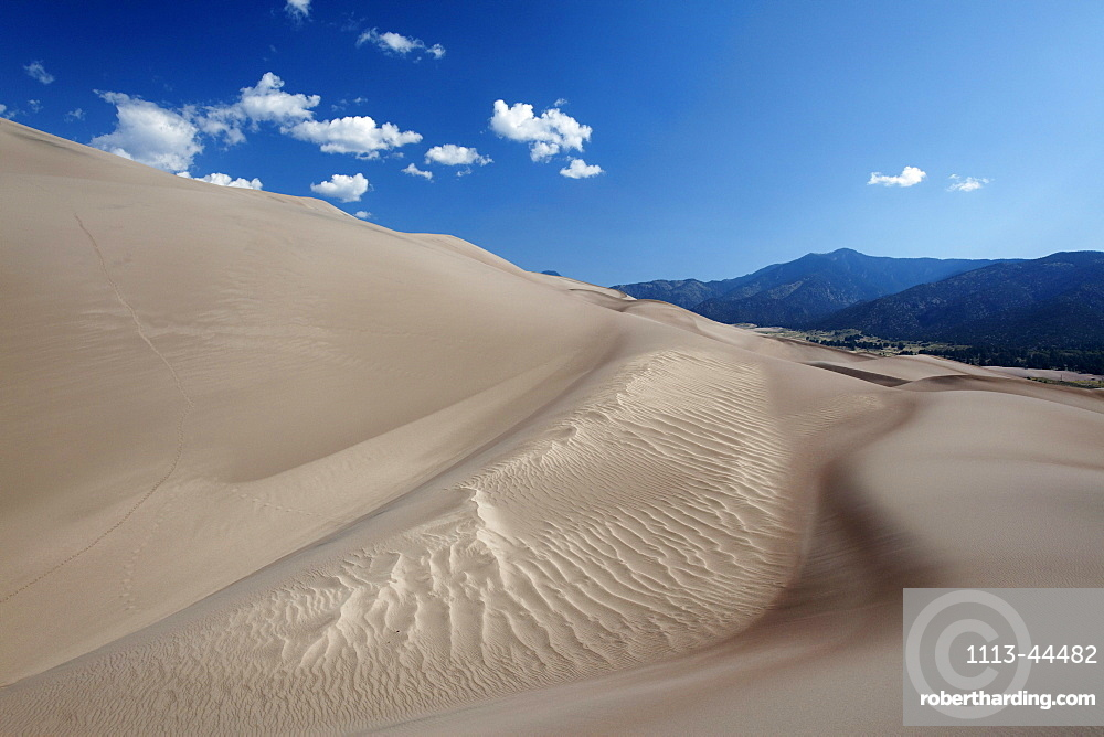 Great Sand Dunes National Park and Preserve, Alamosa County, Colorado, USA